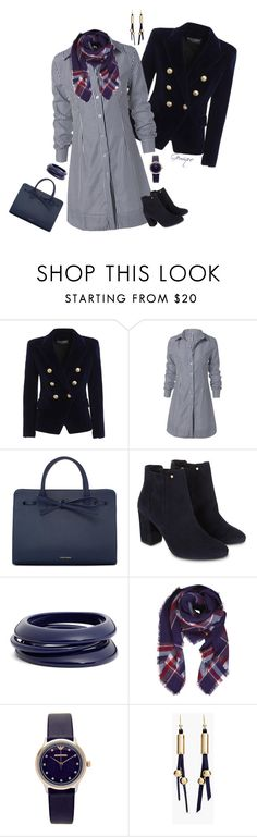 """""""Sharpen Me Up"""" by gemique ❤ liked on Polyvore featuring Balmain, Mansur Gavriel, Monsoon, ZENZii, Humble Chic, Emporio Armani and Chico's"""