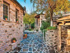 "Zagorochoria and the Greek ""Grand Canyon"" Grand Canyon, Greece, Places To Visit, Earth, Patio, Outdoor Decor, Nature, Greece Country, Naturaleza"