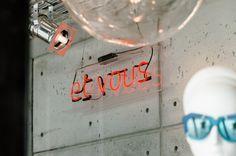 Et Vous shop front window Front Windows, Neon Signs, Store, Larger, Shop