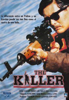 Dip huet seung hung (The killer), 1989 - Spanish poster