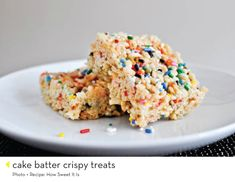 why yes, this is an entire post dedicated to an amazing variety of rice krispie treats. yum!