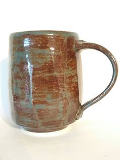 Check out this item in my Etsy shop https://www.etsy.com/listing/470907762/coffee-mug-16-oz-with-matcha-green-glaze