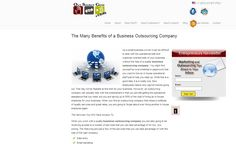 Streamline Business Operations with an Outsourcing Company Business Operations, Business Marketing