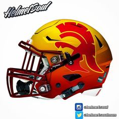 A matte cardinal & gold 2 tone gradient bc why not. Fight On!!! #losangeles…