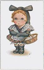 CHILDREN glamour ARTIST DRAWN : Vintage Postcard - signed : IBANEZ  J. Ibáñez #8
