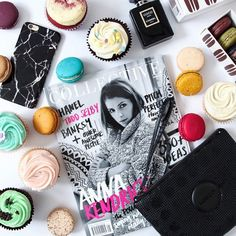 ... always a pleasant surprise to stumble upon your cupcakes in @collectivehub - thanks for the most beautiful [pleasant] surprise @designbyaikonik #thecupcakequeens