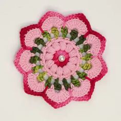 Crochet Easy Rose Free Pattern [Video] - a href='/tag/Crochet' Flower Motif Free PatternsPetal Flower Hotpad and Flower Square [Crochet Tutorial] Amazing square for bedspreads and afghans.Rabbit Baby Blanket MakingThis Pin was discovered by NicMega C Crochet Flower Patterns, Crochet Stitches Patterns, Crochet Motif, Irish Crochet, Diy Crochet, Crochet Designs, Crochet Doilies, Crochet Flowers, Crochet Flower Scarf