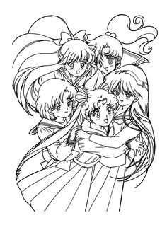 free sailor moon tuxedo mask coloring pages google search