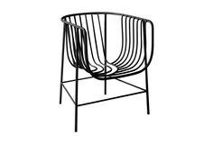 Nendo's Sekitei chair from Cappellini as seen in Elle Decor Jan/Feb 2012