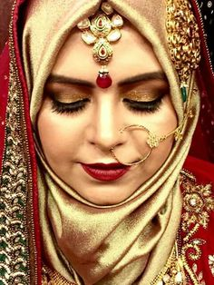 Hijabi Wedding, Muslim Wedding Dresses, Muslim Brides, Muslim Women, Wedding Wear, Bridal Dresses, Muslim Fashion, Hijab Fashion, Bridal Hijab Styles