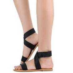 0e09ad96e29 Shiekh Women s FD Folding Sandal Black Sandals