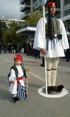 October 2015 ~ National Day celebrations in Athens (photo by Giorgos Giorgiadis) Greek Memes, Greek Warrior, Creta, Greek Culture, Acropolis, Yesterday And Today, Athens Greece, Greek Life, Ancient Greece