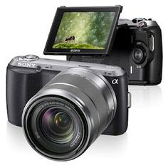 Sony NEX-C3 - I'm tired of using those big boy cameras... I want the world's smallest DSLR!  ☺