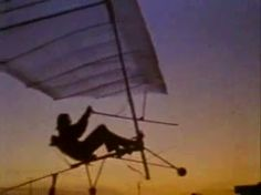 The Gossamer Condor, precursor to the Gossamer Albatross. Landmark invention in human history according to Bucky.  Critical technologies emerged from man's desire to travel the seas and above land.