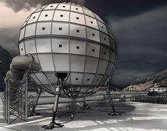 A Genetic Vault in Antarctica proposal by Marcel Swanepoel.