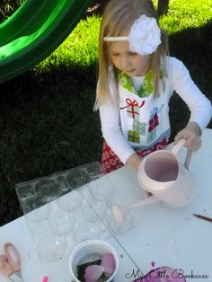 Creating recipes for a Mud Kitchen Recipe Book