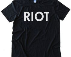 RIOT It's Always Sunny In Philadelphia TV Show design Printed on The Highest Quality Fashion Tee Shirt for Men