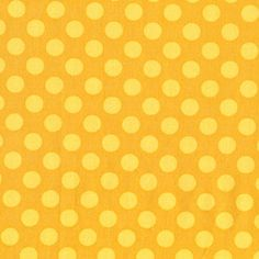 Ta Dot in Mustard Fabric, Michael Miller Fabrics, 1/2 Yard, Half Yard. $4.50, via Etsy.