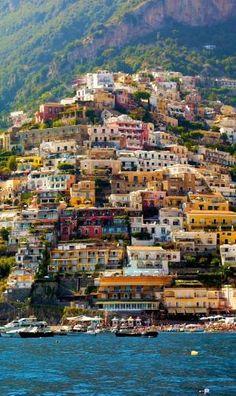 Beautiful Positano ~ Amalfi Coast, Italy by Nelezenia Taylor