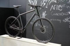 2017 Cannondale Bad Boy urban commuter bicycle with 650B wheels and integrated lights