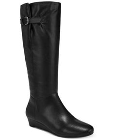 Style & Co Rainne Wedge Tall Boots, Created for Macy's