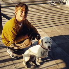 Pagine bianche #innocenza #innocence #whitedog #canebianco  #dog #bambino #child #giallo #yellow #amicoinaspettato #amici #friendship #friends #people #milanodavedere #milano #milan #ig_milan #ig_lombardia #igers #igworldclub #vsco_urban #gotowork #milanocityufficiale # #whywelovemilano #citypics #urban #cityscape #igersmilano by epeverata