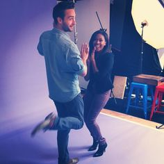 """Tom Mison & Nicole Beharie from the TV Show """"Sleepy Hollow"""" at SDCC 2013 