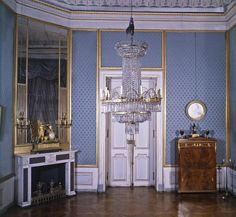 Altes Schreibzimmer im Appartement König Friedrichs im Neuen Corps de Logis