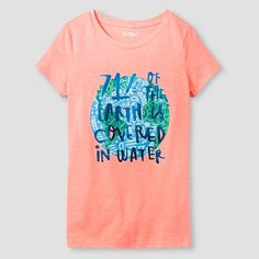 Girls' Graphic Tee Cat & Jack™ - Science Facts : Target