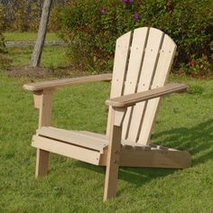 Outdoor Merry Products Kids Adirondack Chair Kit   ADC0292200000