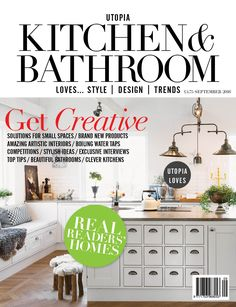 September issue of Utopia Kitchen & Bathroom magazine is now out http://www.utopiamag.co.uk/subscribe/