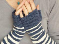 knit gloves | Grâce au tuto de la maison Rililie et surtout de votre calculette ...