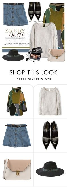 """""""Used and Oversized"""" by lisannevicious ❤ liked on Polyvore featuring Ÿù, Missoni, Boden, Chicnova Fashion, Yves Saint Laurent, 8, American Eagle Outfitters and Bobbi Brown Cosmetics"""