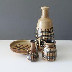 21-091 Lapid Israel Fat Lava Glaze Pitcher - Ray New York Ceramic Decor, Bud Vases, Lava, Israel, Mint, Pottery, York, Ceramics, Ceramica