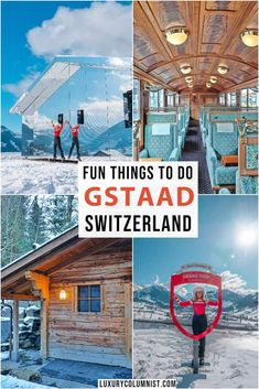 Fun Things to Do in Gstaad Switzerland Best Gstaad attractions includiing skiing spa shopping the cheese grotto and Europe Travel Guide, Travel Guides, Travel Destinations, Budget Travel, Jet Set, European Destination, European Travel, Gstaad Switzerland, Visit Switzerland