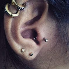 #tragus #piercing