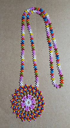 Beaded Jewelry Patterns, Embroidery Jewelry, Seed Bead Jewelry, Bead Jewellery, Diy Necklace, Necklaces, Silverware Jewelry, Crochet Food, Native American Beading