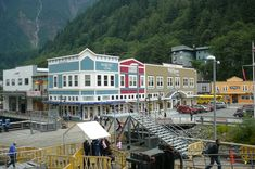 Juneau, Alaska, really fell in love with this little town. (And it has a bead store). VTP