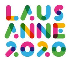 Lausanne announced as official Swiss Candidate for the 2020 Winter Youth Olympics Self Branding, Logo Branding, Corporate Branding, Personal Branding, Typographic Logo, Typography, Brand Identity Design, Branding Design, Youth Logo