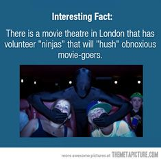 Every movie theater needs this…