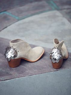 Silver Diamond Ankle Boot
