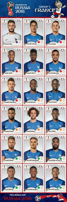 France is the winner of FIFA World Cup 2018 in Russia and world champion for next 4 years till Dubai Uefa Football, Football 2018, Soccer Fifa, National Football Teams, World Football, Soccer World, Sport Football, Fifa World Cup France, World Cup Russia 2018