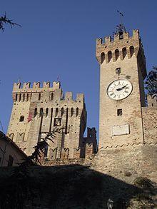 Rocca di Offagna ( 1454 ), Marche