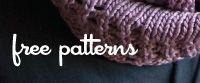 Hooray for free knitting patterns! :)