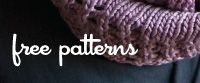 Hooray for free knitting patterns! :)