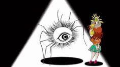Políticas Globais: glocalização. Artista surrealista pop japonês, Keiichi Tanaami, cria animação inspirado em Alice no País das Maravilhas.