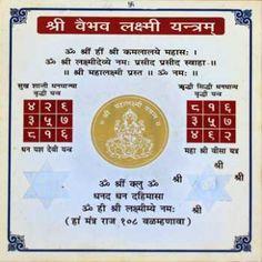 shree vaibhav laxmi yantra