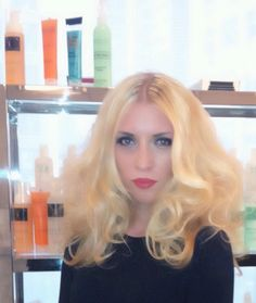 JEUNE FILLE MODERNE ! Haute Couture Hairstyle . Products used : Angela Cosmai