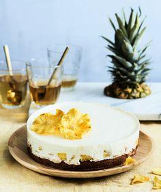 Rahka-ananaskakku   Juhli ja nauti, Jälkiruuat, Makea leivonta   Soppa365 Cheesecake, Baking, Desserts, Food, Sweet Stuff, Pineapple, Tailgate Desserts, Deserts, Cheesecakes