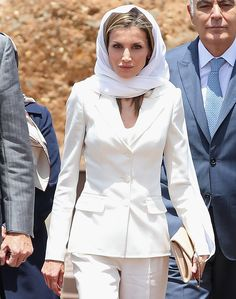 Marruecos - Los looks de la reina Letizia en sus viajes al extranjero